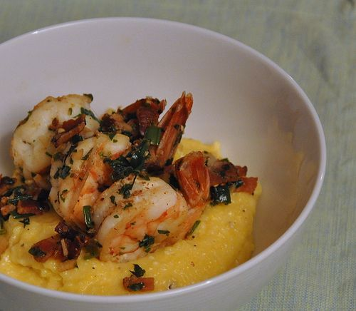 Bobby Flay's Shrimp and Cheese Grits - Tyree's Favorite