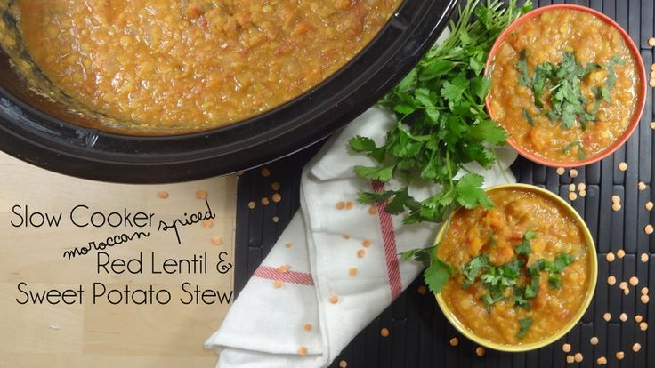 Spicy Red Lentil And Chickpea Stew (Paula's Moroccan ...
