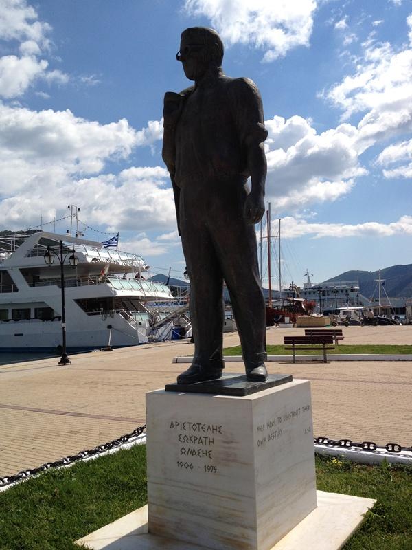 Aristotelos Onassis, Nidri, Lefkada