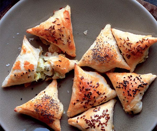 Creamy Feta and Caramelized Leek Börek