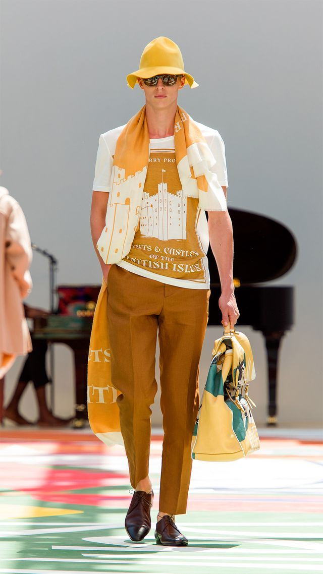 Prefect for summer in Capri - Burberry Prorsum Menswear Spring/Summer 2015