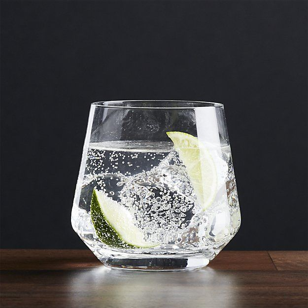 Tour Double Old-Fashioned Glass | Crate and Barrel