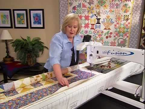Loading Your Quilt (HQ Sixteen, Simply Sixteen & HQ24 Fusion) - YouTube Calico Mermaid - Handi Quilter Dealer!