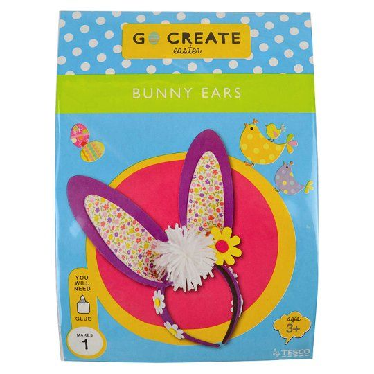 Go Create Easter Bunny Ears   Tesco