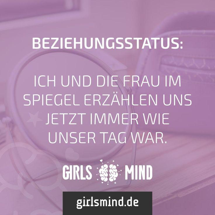 Ein nettes Gespräch am Abend. Mehr Sprüche auf: www.girlsmind.de #single #beziehung #beziehungsstatus #spiegel #tag