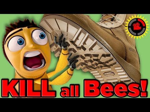 The Bee movie lied to you!  Youtube  Don't kill the bees but honey bees aren't the only bees we need...