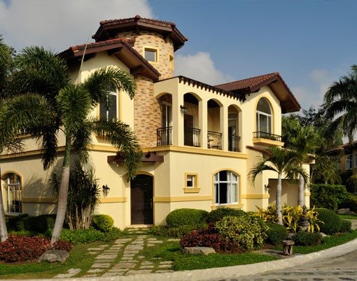portofino alabang philippines portofinos meticulously applies italian architectural details such ascupolas - House Designs Alabang Philippines