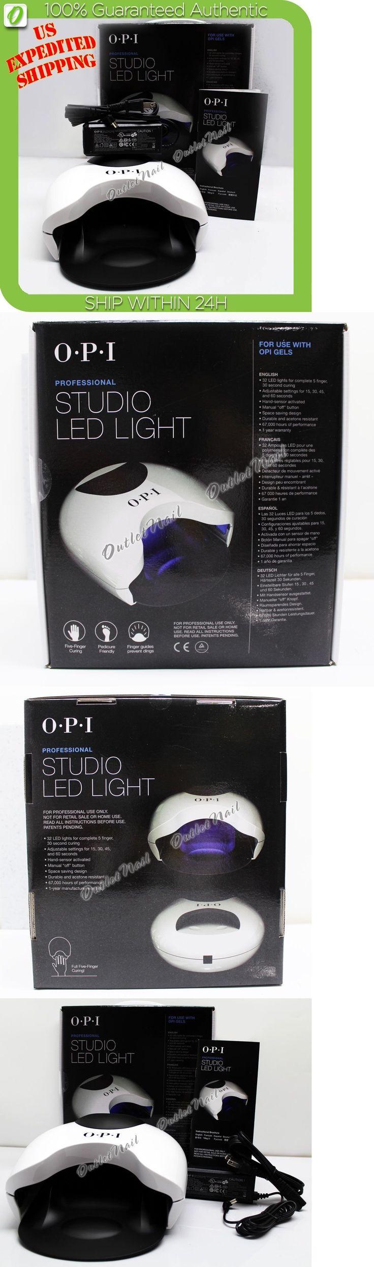 Nail Dryers and UV LED Lamps: Opi Studio Led Light Gl900 Lamp Gel Nail Polish Dryer 110V- 240V Uk, Au, Eu -> BUY IT NOW ONLY: $92.98 on eBay!