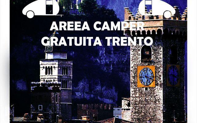 Blog: area camper gratuita, Trento! #parcheggi #areecamper #travel #trento