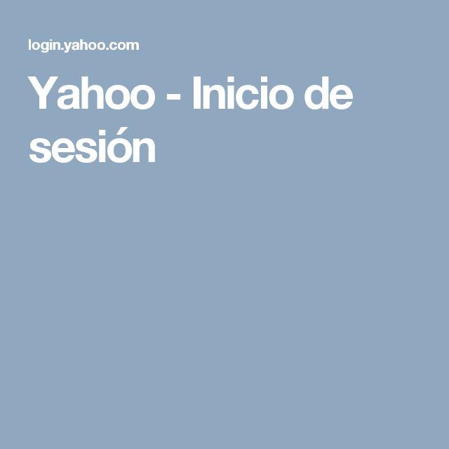 Yahoo - Inicio de sesión