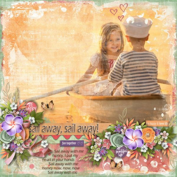 Template The Bigger Picture #8 by Heartstrings Scrap Art. Kit Enjoy The Moment by Heartstrings Scrap Art. Photo from Desktop Nexus