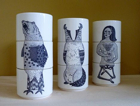 Chloe Lee Carson Exquisite Cups