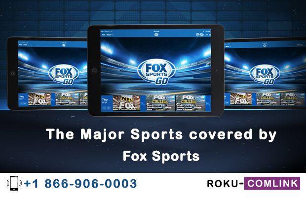 Fox Sports Go Com Activate Roku - Foxsportsgo Activate | Fox sports, Roku, Sports channel