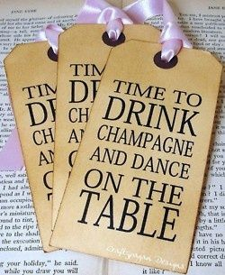 I like these!  Perfect bachelorette party invitations for my friends... :)