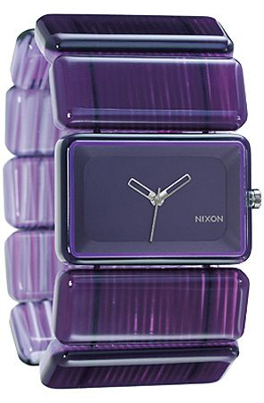 Nixon The Vega Watch in Purple Marble : Karmaloop