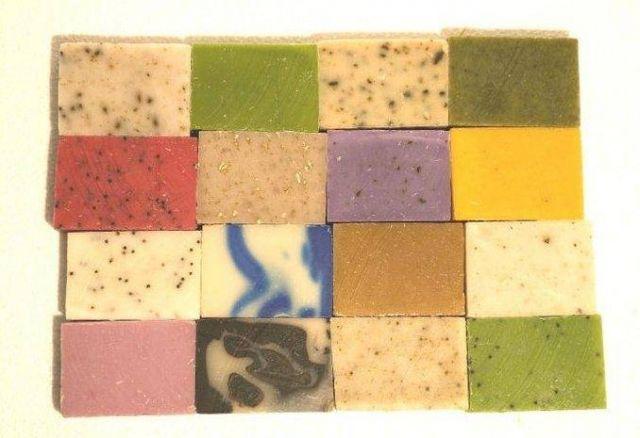 ¿Como colorear nuestros jabones naturales sin usar colorantes químicos!