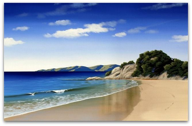 Abel Tasman Stretched Canvas Print by Linelle Stacey