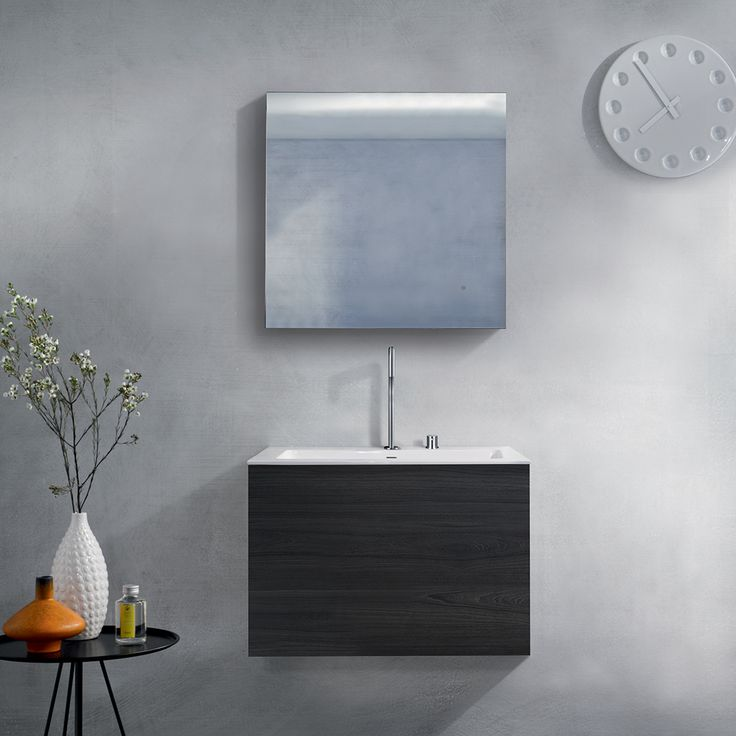Wall-mount vanities are the perfect way to open the space in your modern bathroom. It gives off the illusion of a bigger space and help limit the look of being cluttered.    #clean #modern #bathroom #vanity #elegant #openspace #open #italianmade #love #design #modernbathroom #modernhome #blu #blubathworks #blubath #decor #interior #interiordesign #instagood #potd #vancouver #yvr #minimal #minimalistic #lifestyle #furniture #beautiful #perfect