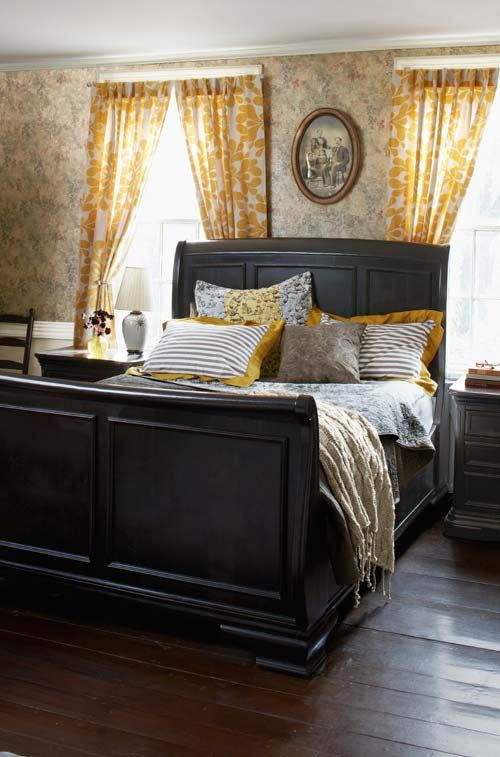 Best 25 Sleigh Beds Ideas On Pinterest Cherry Wood