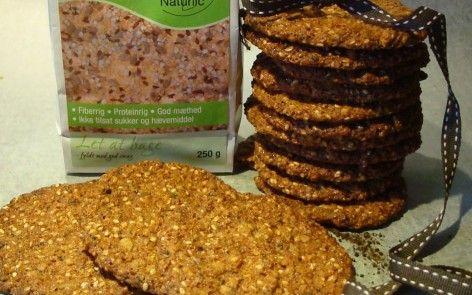 #glutenfri #cookies med lakrids
