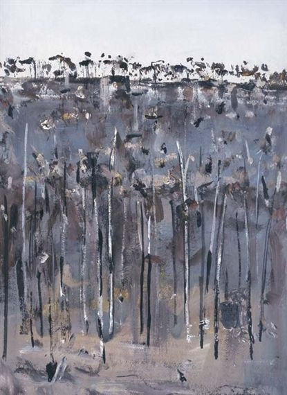 Fred Williams, Charred Wooded Hillside