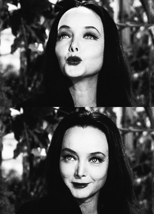Carolyn Jones/ Morticia Addams