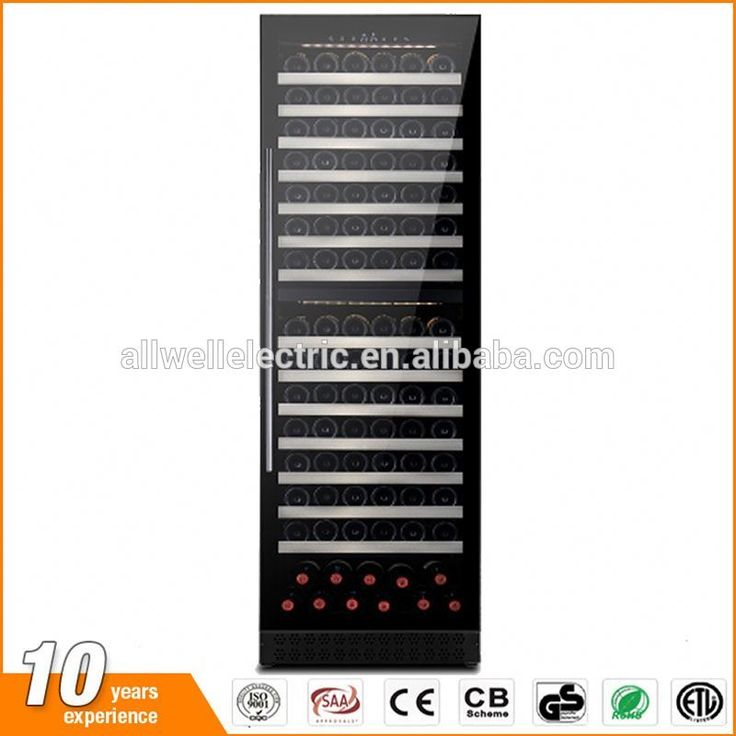 Factory price 397 liter with air compressor wine display cooler for home