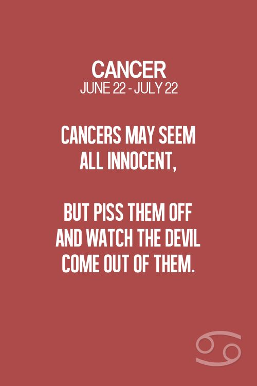 What sign is best for cancer woman