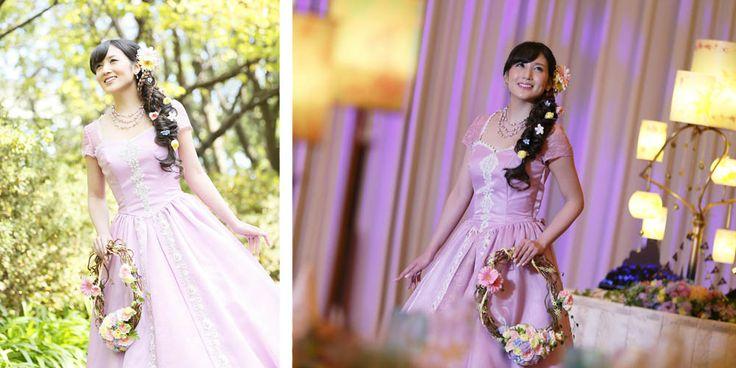 Tangled and Frozen Weddings Launch at Tokyo Disney Resort