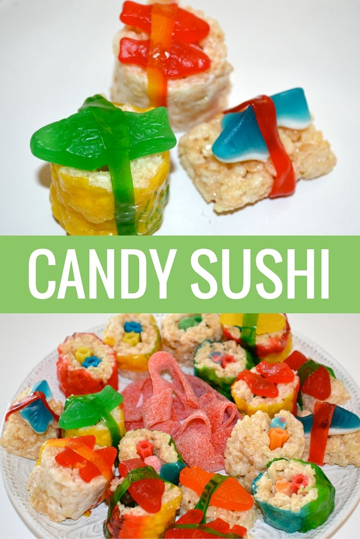DIY Candy Sushi!                                                                                                                                                      More