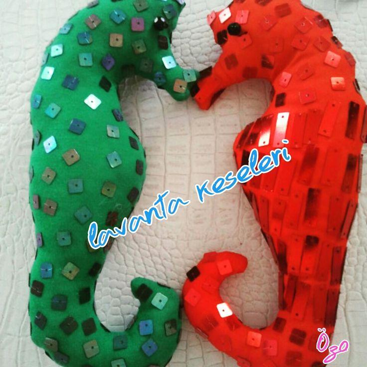 Seahorse lavander accessory