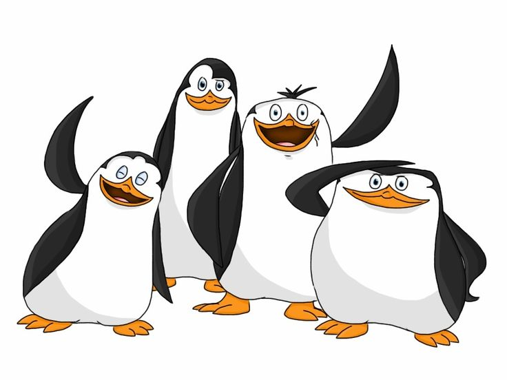 Penguins of Madagascar The Penguin Team