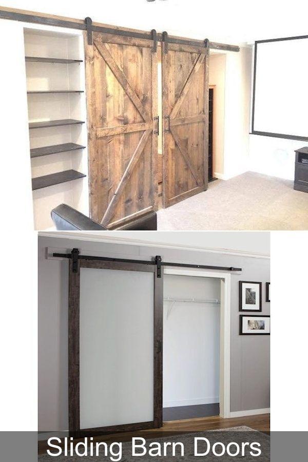 3 Panel Sliding Closet Doors Sliding Doors For Interior Rooms Sliding Door Price In 2020 Barn Doors Sliding Barn Door Barn