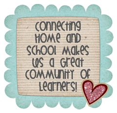 home school snip- want to have this up for open house and keep it up year round!  She asks families to send in a family picture that stays at school the whole year.