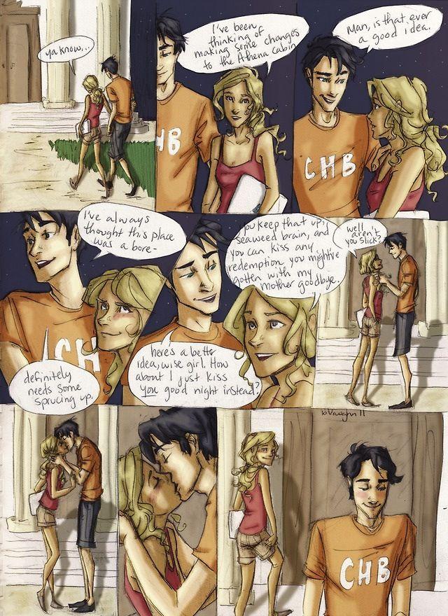 Percy Jackson porno Comics
