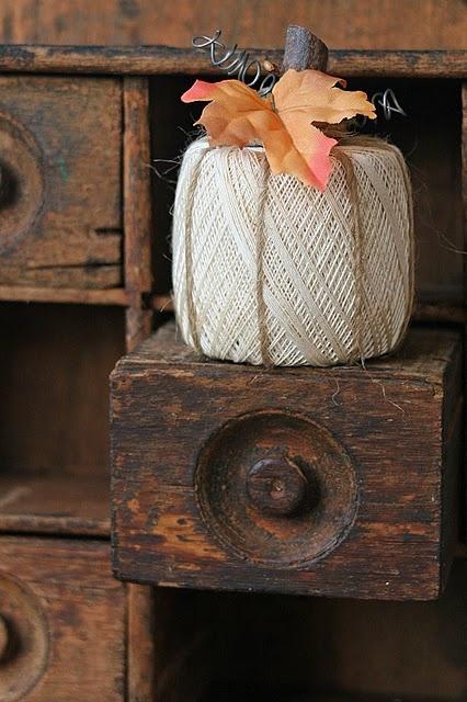 Crochet Thread Pumpkin