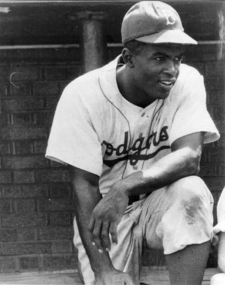Jackie Robinson Favorite Baseball Player Next To Joe