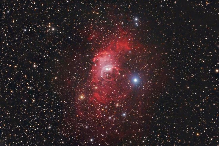 The Bubble Nebula by Stardaug. Ontario, Canada