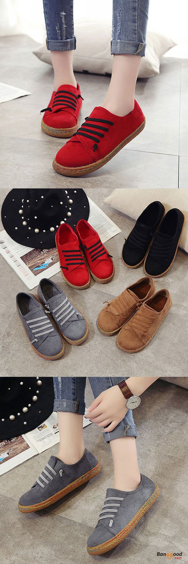 US$19.99+Free shipping. Size(US): 5~11. Upper Material: Suede. Fall in love with casual style! Summer Sandals, Women Flat Sandals, shoes flats, shoes sandals, Casual, Outdoor, Comfortable.