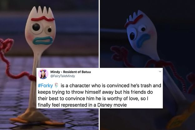 """Forky From """"Toy Story 4"""" Is The Relatable Icon We Deserve, So Here's A Bunch Of Jokes About Him"""