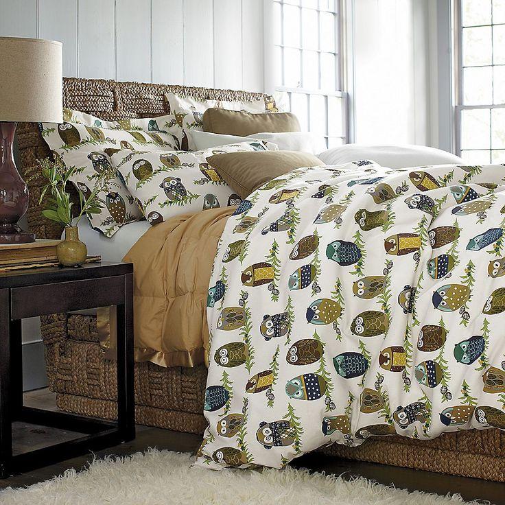 23 best owl bedding for adults images on pinterest owl bedding bedroom ideas and girls bedroom. Black Bedroom Furniture Sets. Home Design Ideas