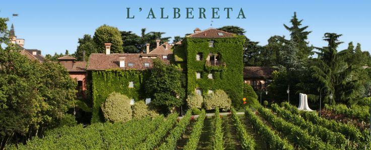 L'Albereta in Lombardi - just beautiful this old villa