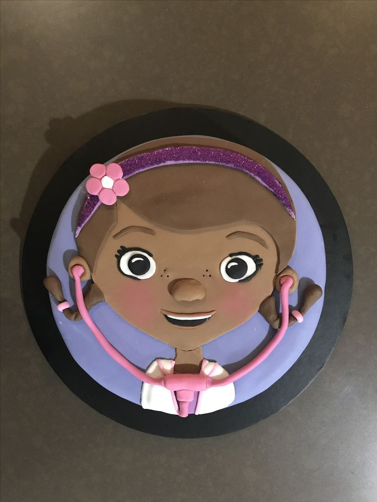 Doc Mcstuffins Cake for my daughters 3rd birthday