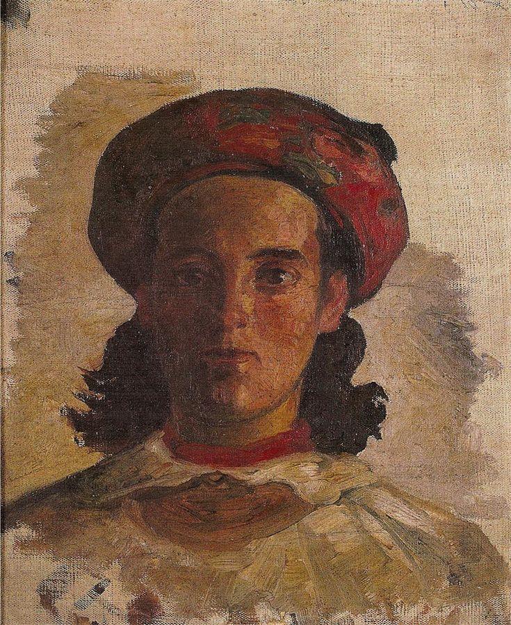 Jacek Malczewski - Ukrainian Woman (1886)