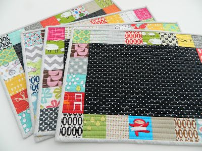 s.o.t.a.k handmade: patchwork placemats