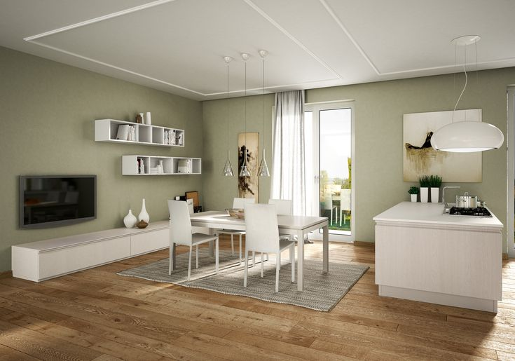 Berloni Canova Kitchen: Design becomes essential, while ergonomics is taken to the highest levels. Minimal, functional inspiration is unveiled by every detail