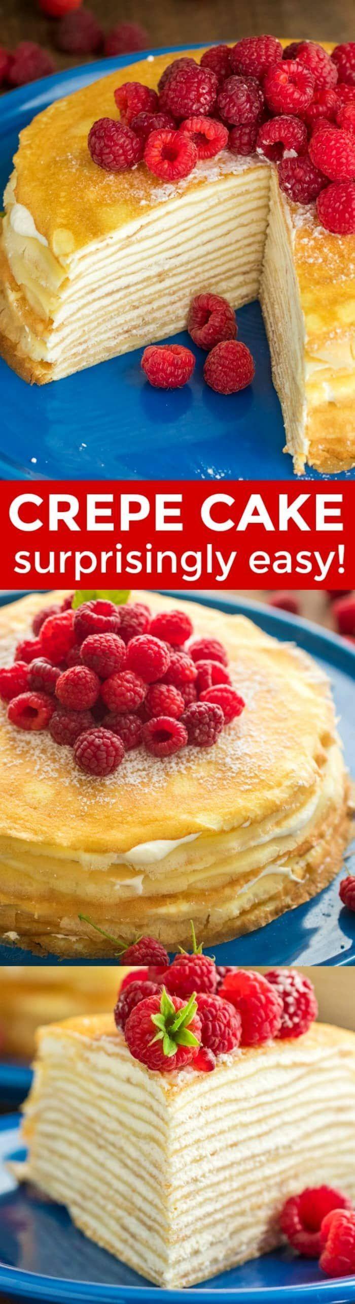 Easy Crepe Cake recipe