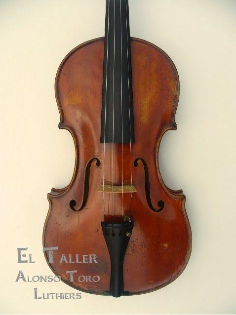 Manuel Toro Luthier: Violín Mandelli 1914