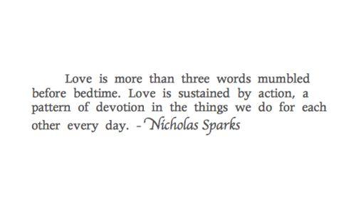 Nicholas Sparks...