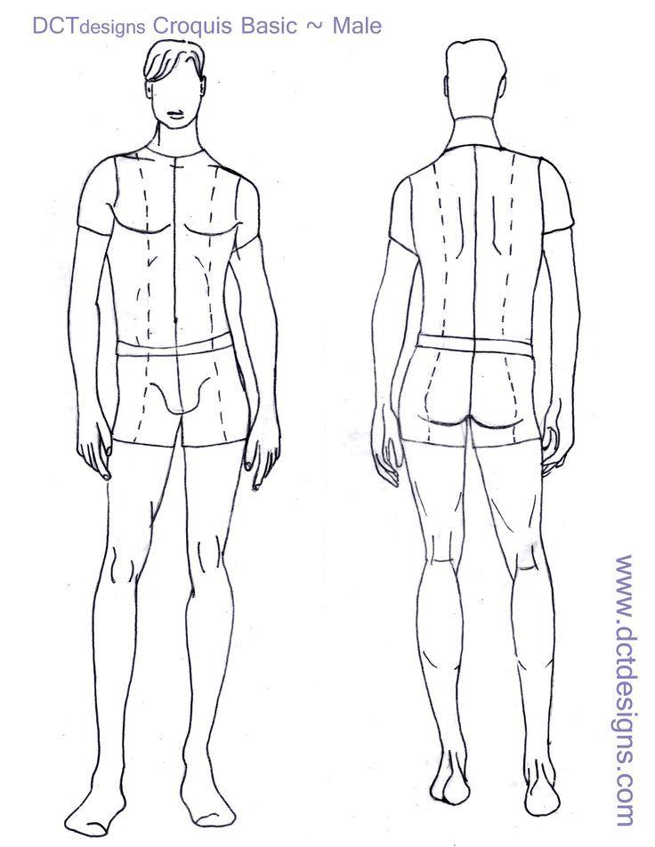 Bildergebnis für fashion template male | Designs zeichnen ...